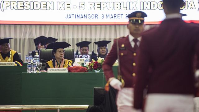 Megawati Terima Profesor Kehormatan Unhan, Begini Aturan Pemberiannya  (128635)