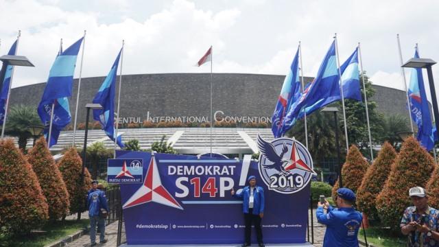 Ilustrasi Partai Demokrat di Pemilu 2019