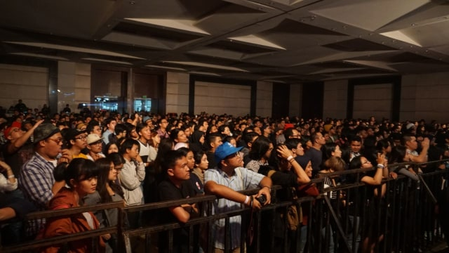 Penonton di The 8th Music Gallery