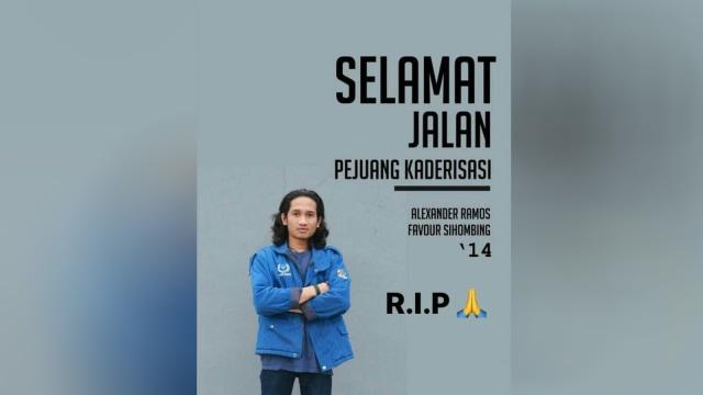 Mahasiswa korban pembunuhan