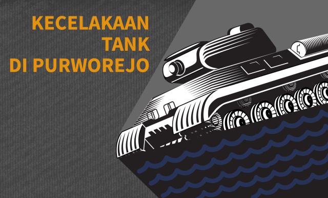 Kecelakaan Tank di Purworejo