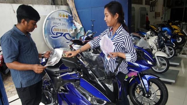 Penjualan Sepeda Motor Nasional Menurun