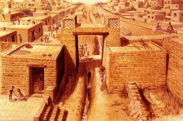 Peradaban Mohenjodaro dan Harappa di Lembah Sungai Indus (137917)