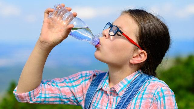 Dehidrasi pada anak.