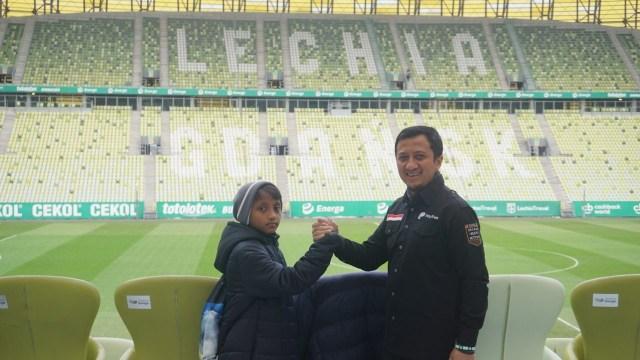 Yusuf Mansur Kuasai 10 Persen Saham Klub Eropa Lechia Gdansk (248096)