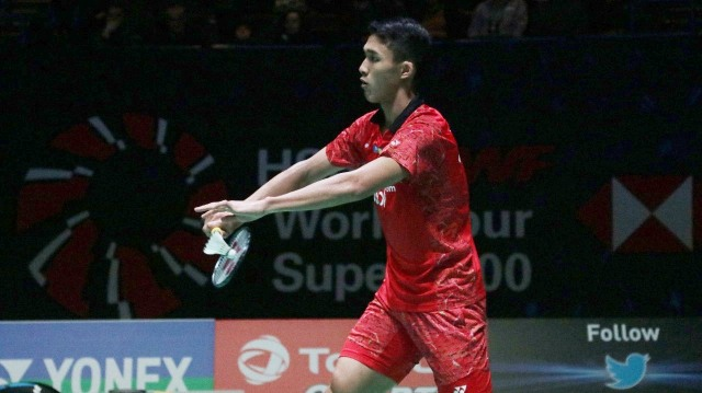 Jonatan Christie, di All England 2018