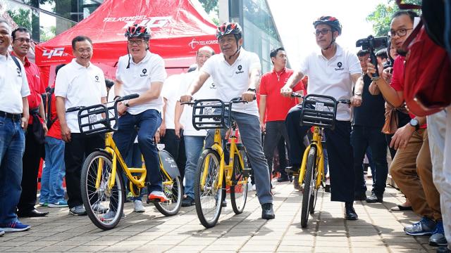 Uji Coba Layanan Bike-Sharing di UI