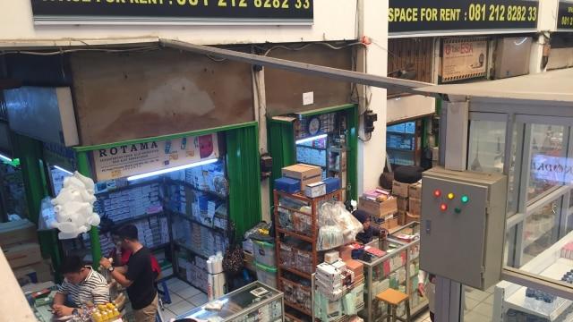 Sentra obat Pasar Pramuka
