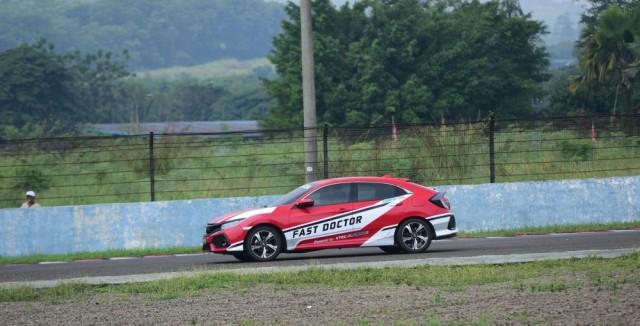 Honda Civic Hatchback Turbo Eksis di IRS 2018 (36817)