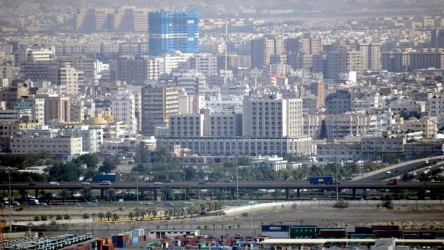 Suasana kota Jeddah