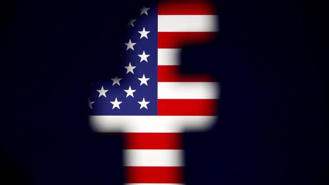 Ilustrasi Facebook di Amerika Serikat