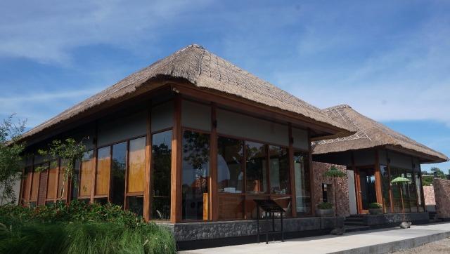 Suasana kantor pusat Coral Triangle Center, Bali.