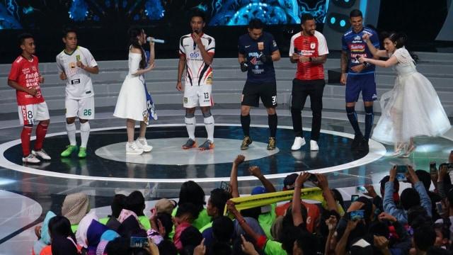 Suasana Launching Liga 1.