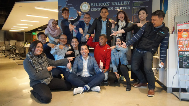 Kunjungan pemenang The NextDev ke SVIC
