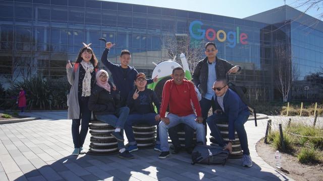 Juara The NextDev 2017 ke kantor Google