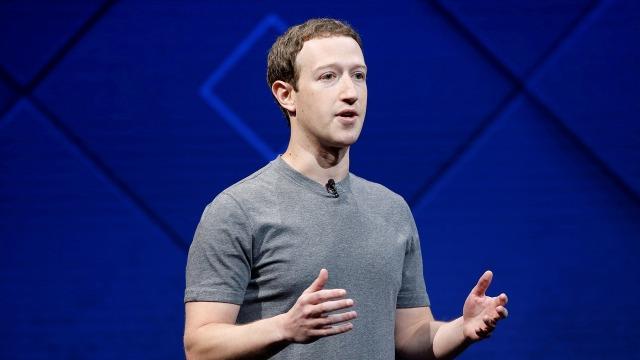 Pendiri dan CEO Facebok, Mark Zuckerberg