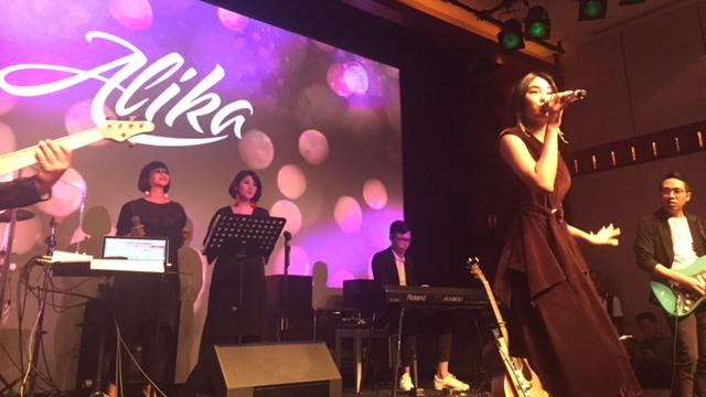 Alika Launching Album 'Perfect Moment'