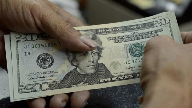 Ilustrasi mata uang Dolar.