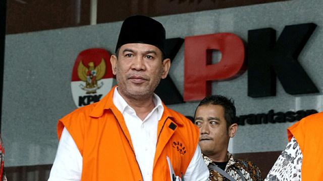Bupati Hulu Sungai Tengah nonaktif Abdul Latif