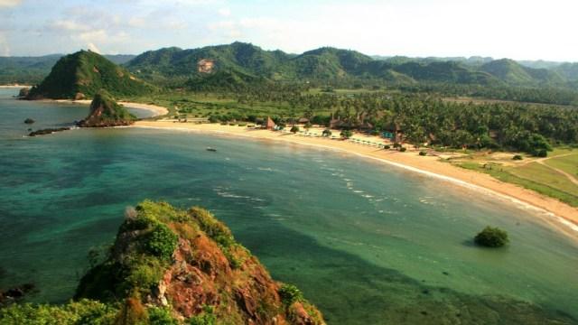 Panorama Pantai Kuta