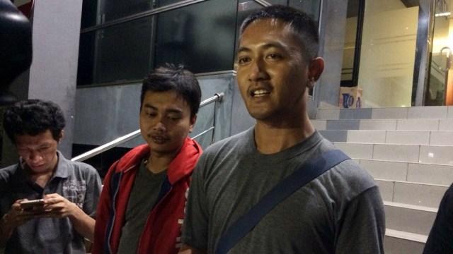 Adi Wijaya, wartawan diintimidasi security Alexis