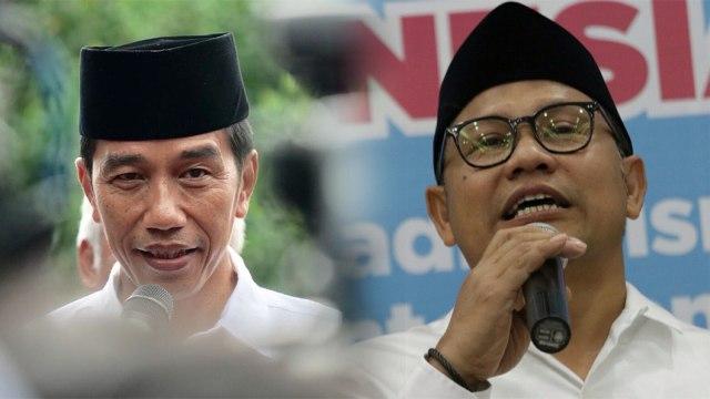 Cak Imin soal Airlangga Ingin Dampingi Jokowi: Saya Duluan Deklarasi (1307072)