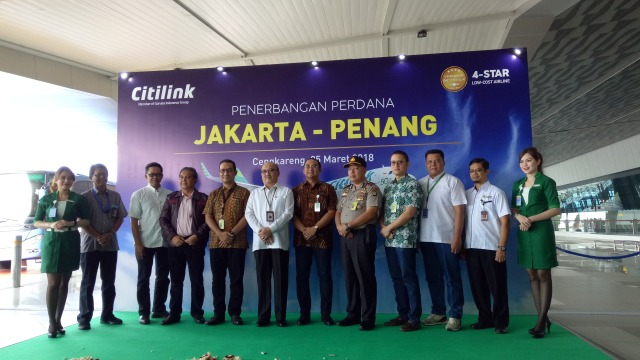 Peresmian Penerbangan  Citilink Jakarta-Penang