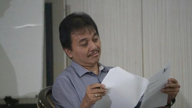 Politisi Partai Demokrat, Roy Suryo.