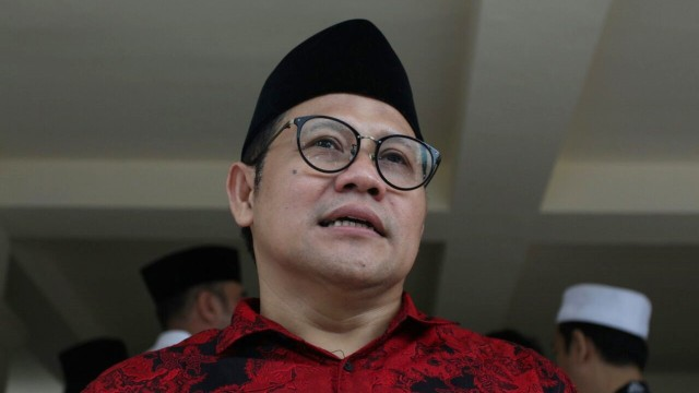 Muhaimin Iskandar di TMP Kalibata