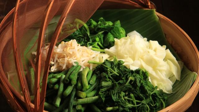 Makanan sehat Indonesia.
