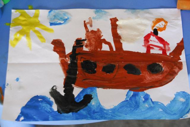 Ilustrasi Lukisan Anak
