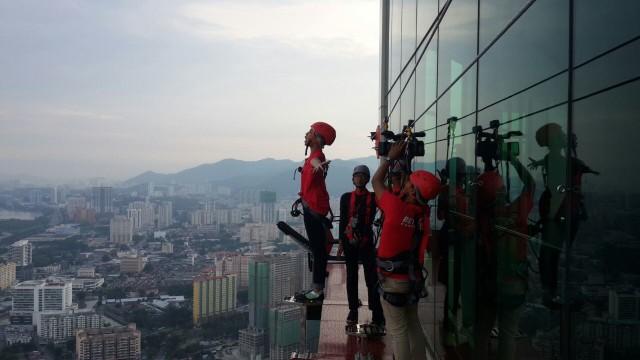 Uji Adrenalin di Gravityz The TOP Penang