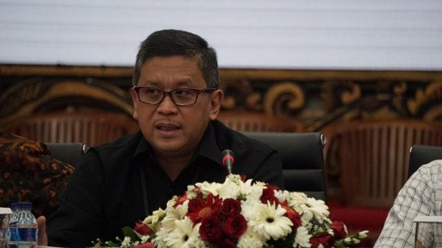Sekjen Partai PDIP, Hasto Kristiyanto.