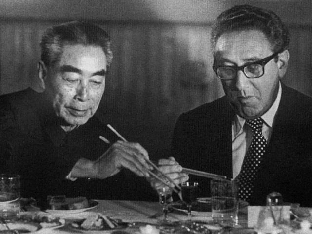 Zhou Enlai dan Henry Kissinger