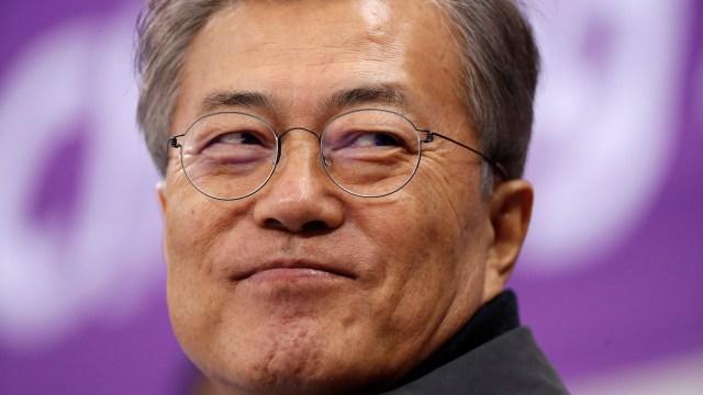 Presiden Korea Selatan, Moon Jae-in
