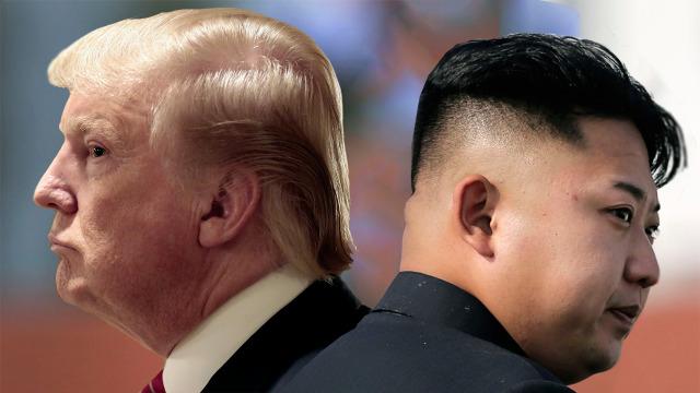 Donald Trump dan Kim Jong-un