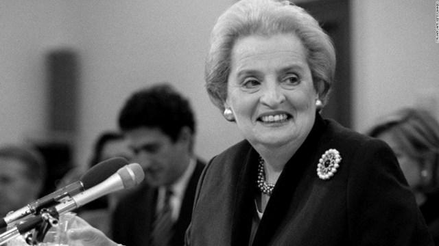 Mantan Menteri Luar Negeri AS, Madeleine Albright