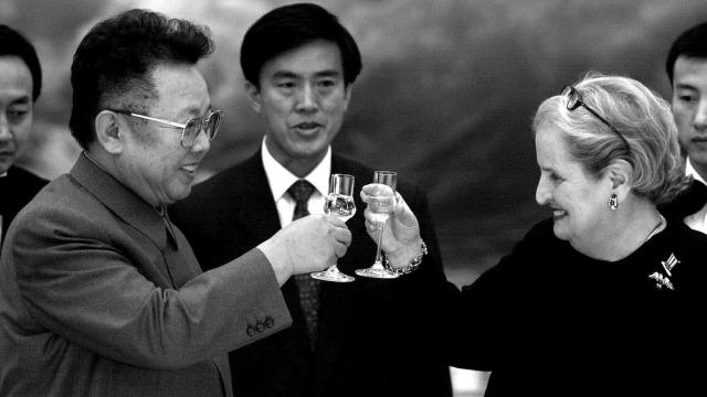 Kim Jong-il dan Madeleine Albright