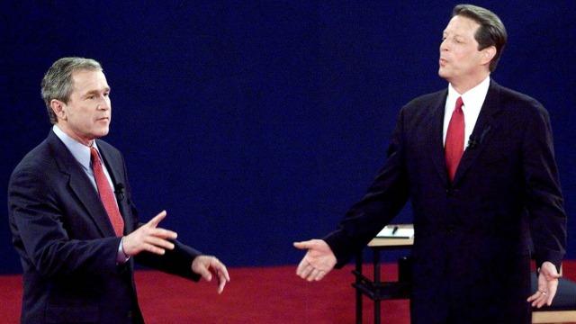 Debat George Bush dan Al Gore