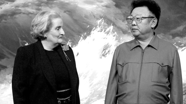 Medeleine Albright dan Kim Jong-il