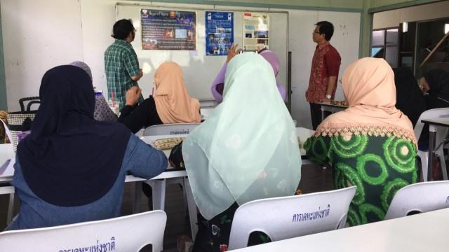 Kelas Bahasa Indonesia di Masjid Jawa, Bangkok