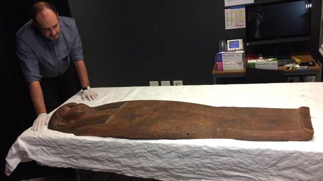 Mumi Berumur 2.500 Tahun Ditemukan Kembali