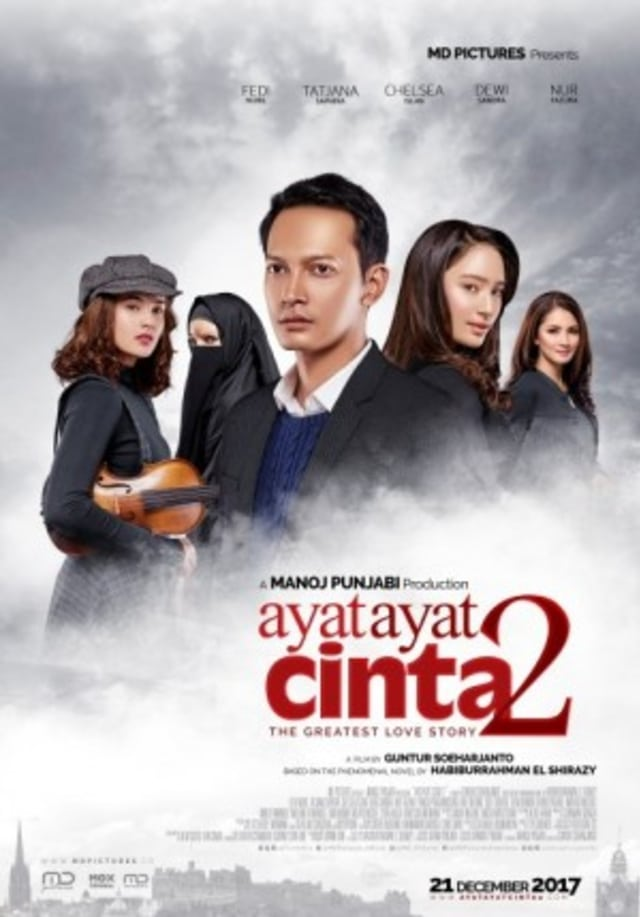 Review Movie AYAT - AYAT CINTA 2 - kumparan com