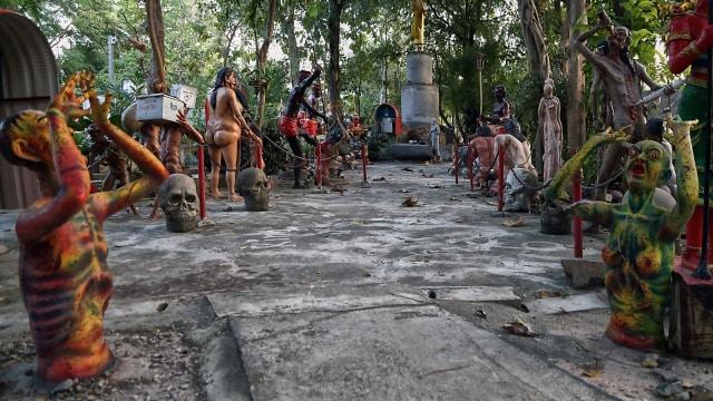 Wang Saen Suk, Taman di Bangkok yang Mengingatkan pada Neraka (86309)
