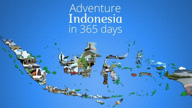 Adventure Indonesia in 365 days.