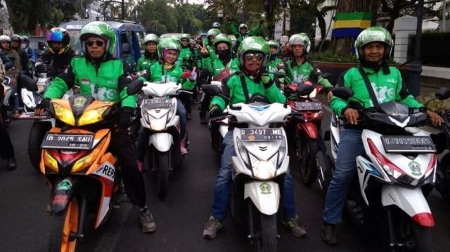 Komunitas Go-Ride di Bandung