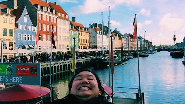Chinventures di Nyhavn, Kobenhavn, Denmark