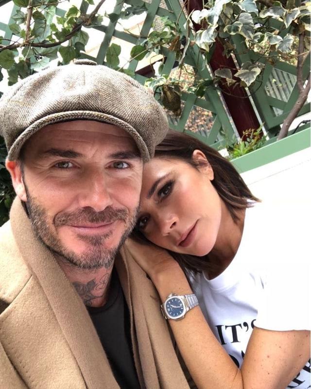 David Beckham dan Victoria Beckham (not cov)