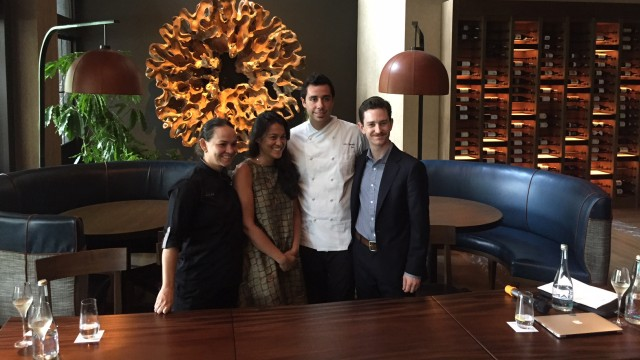 Menikmati Lezatnya Hidangan Chef Michelin Bintang 3 di Vong Kitchen (180306)