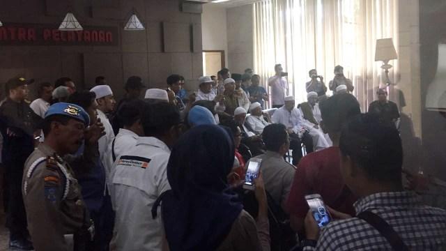 Perwakilan Aksi Bela Islam 64 bertemu Bareskrim